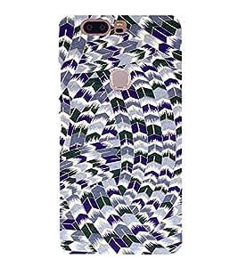 PrintVisa HUAHONORV8-Modern Art Pattern Plastic Back Cover for Huawei Honor V8 (Multicolor)