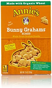 Annie's Homegrown Bunny Grahams, Honey, 7.5 Oz