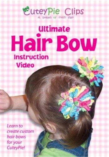 how to make pony o hair bows