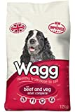 Wagg Complete Beef and Veg, 12kg