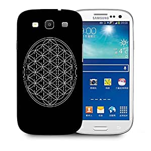 Snoogg One Flower Of Life Sacred Geometry Printed Protective Phone Back Case Cover For Samsung S3 / S III
