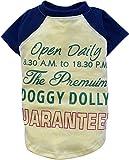 Bild: Doggy Dolly T538 Hundeshirt im Vintage Look cremedunkelblau Größe  XL