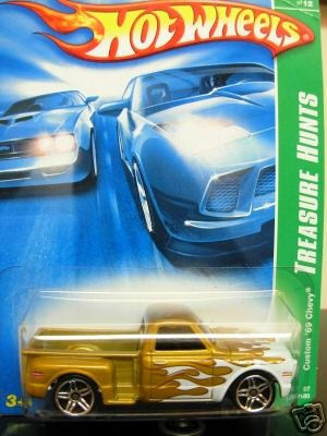 2007 Hot Wheels Custom '69 Chevy Treasure Hunt - 1