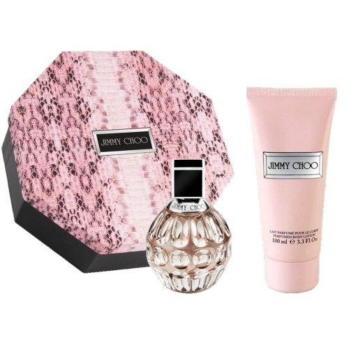 Jimmy Choo Eau de Parfum Geschenkset : 60ml (2 Fl.Oz) EDP Spray, 100ml (3.3 Fl.Oz) Body Lotion