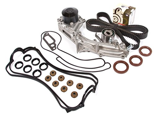 Evergreen Tbk193Vct Acura Legend 4-Door 3.2L C32A1 Timing Belt Kit Valve Cover Gasket Water Pump (1 Outlet Pipe)
