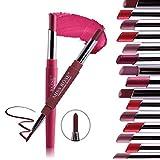 Innovative 8 PC duo ends long lasting matte nude lipstick + one end lipstick Liner (8 PC Set 3 (1-8)) (Color: 8 PC Set 3 (1-8))