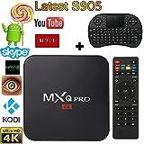 Soogoo MXQ PRO Android Tv Box Kodi Amlogic S905 Quad Core Android 5.1 1gb RAM 8gb Flash Support Wifi Smart Tv...