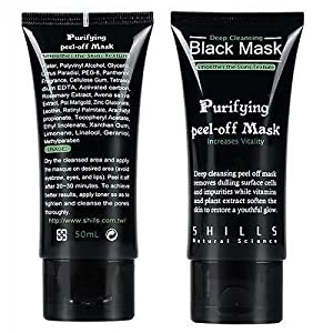 Shills Deep Cleansing Black MASK purifying peel-off mask Facial Clean Blackhead by Shills