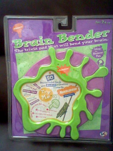 Brain Bender - The Trivia Pad That Will Bend Your Brain (control pad)