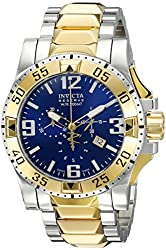 Invicta Men's 0206 Reserve Collection Excursion Chronograph Stainless Steel Watch