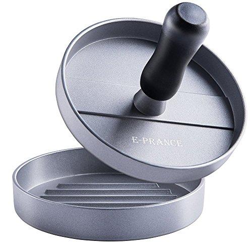 E-PRANCE Aluminum Burger Press Hamburger Maker Non Stick Patty Mold Ideal for BBQ (Bbq Maker compare prices)