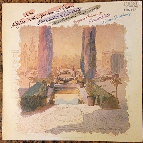 London Symphony, Eduardo Mata, Joaquin Achucarro, Falla: Nights In The Garden Of Spain, RCA ARL1-3004, US