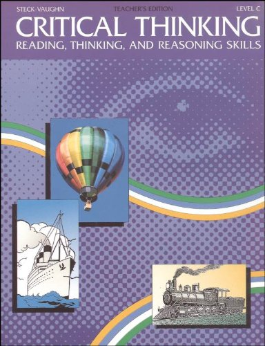 steck-vaughn critical thinking reading thinking and reasoning skills Your steck-vaughn test preparation for the 2014 ged® test solution includes: with a focus on core reading and critical-thinking skills, hmh provides learners with the tools needed for successful completion of all content areas of the 2014 ged® test.