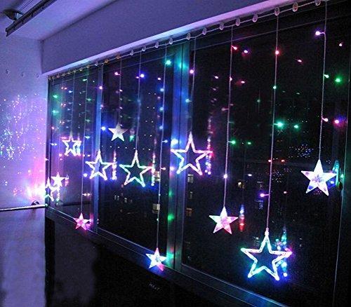 Sterne vorhang spar baumarkt for Fenster 2m breit