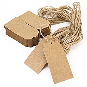 Amazon Wedding Gift Tags : Paper Gift Tags for Wedding Birthday Gift Card Luggage Price Favor ...