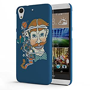 Koveru Designer Printed Protective Snap-On Durable Plastic Back Shell Case Cover for HTC Desire 626 - Tangled