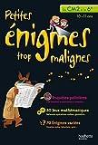echange, troc Eric Berger - PETITES ENIGMES TROP MALIGNES - Du CM2 à la 6e