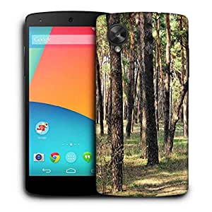 Snoogg Summer Forest Printed Protective Phone Back Case Cover For LG Google Nexus 5