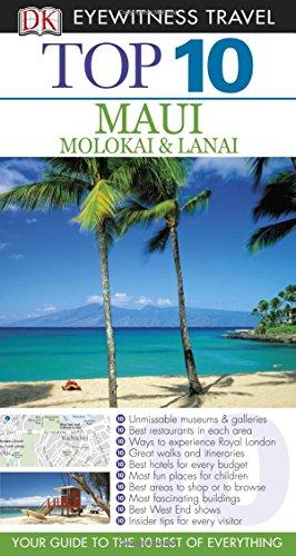 Top 10 Maui, Molokai & Lanai (Eyewitness Top 10 Travel Guide)