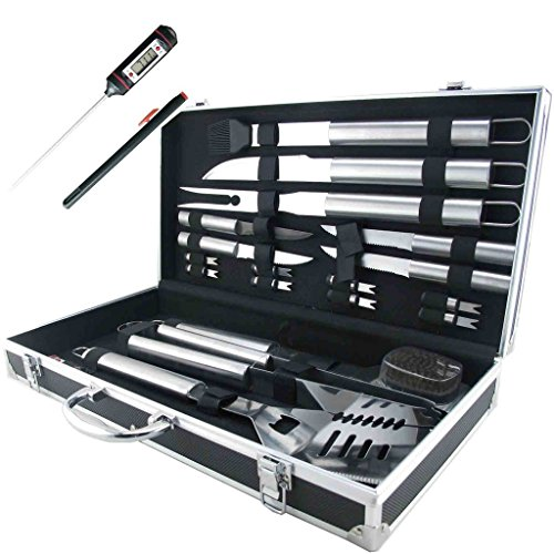 best bbq grill tool sets and grilling tools for 2016 involvery reviews. Black Bedroom Furniture Sets. Home Design Ideas