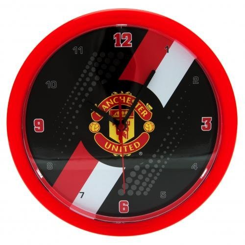 manchester-united-fc-stripe-wall-clock