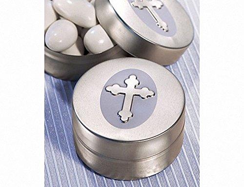 Silver Cross Design Mint Tins, 1