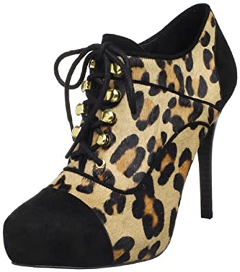 Fergie Women's Gatsby Too Oxford,Leopard,10 M US