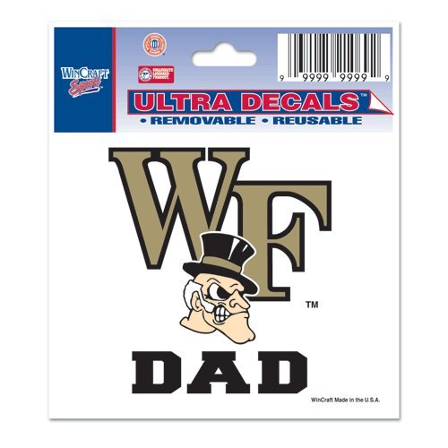 Wake Forest University Ultra Decal 3x4 DAD