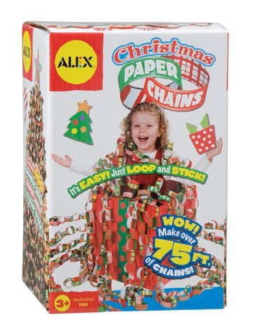 Christmas Paper Chains by Alex Toys