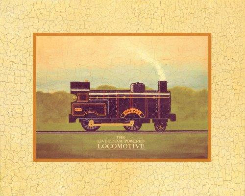 "Art 4 Kids ""Locomotive"" Mounted Art Print, 20""X16"" front-978135"