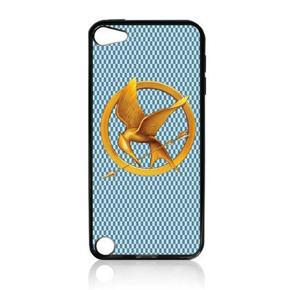 THE Hunger Game TPU Rubber Plus Hard Case Cover Skin for Ipod Touch 5g 5 5th Generation - Free Plastic Retail Packaging Box