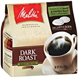 MELITTA Coffee Pods, Dark Roast, 4.44-Ounce (Pack of 6)