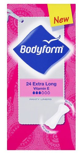Bodyform Panty Liners Extra Dry Long 2-In-1 24