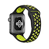 Apple Watch スポーツバンド, Lamshaw スポーツバンド 交換バンド 対応 アップルウォッチ Nike+ / New Apple iWatch Series 2 / Apple Watch Series 1