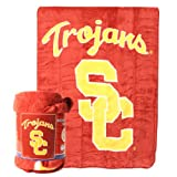 USC Trojans Micro Raschel Super Soft Fleece Throw / Blanket (Measures 50