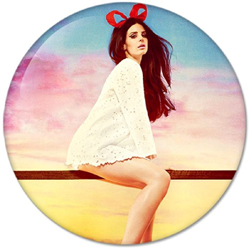 Lana Del Rey #2 Music Collection Bottle Opener Round Button Badges With Refrigerator Magnet, New 2.25 Inch front-226988