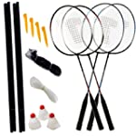AMOS 4 Player Badminton Outdoor Garde...
