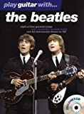 Play Guitar With... The Beatles. Partitions, CD pour Tablature Guitare(Symboles d'Accords)