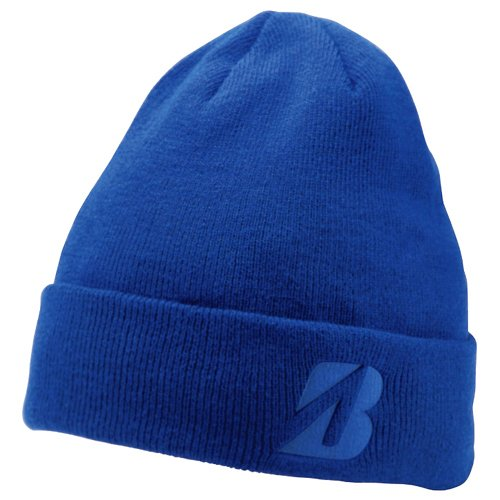 bridgestone-2016-golf-winter-beanie-hat-royal-blue