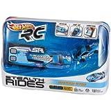 Hot Wheels RC Stealth Rides Nissan 370X Blue Racing Car by Mattel (English Manual)