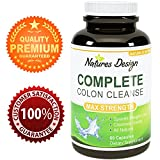 Natural Colon Cleanse for Weight Loss & Detox - 100% Pure Ingredients, Highest Grade & Quality - Guaranteed By Natures Design