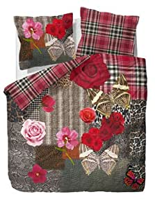 essenza mako satin bettw sche blush 155x220 cm 80x80 cm. Black Bedroom Furniture Sets. Home Design Ideas
