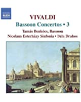 Vivaldi : Bassoon Concertos, Vol. 3