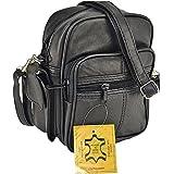 Bag Street Unisex Schultertaschen, 5 liters, schwarz, 0705C