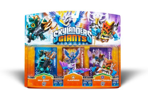 Activision Skylanders Giants 3 Pack Gill Grunt Flashwing Double Trouble - 1