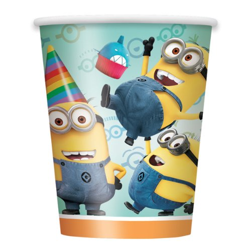 Despicable Me 2 9-Ounce Cups, 8-Piece