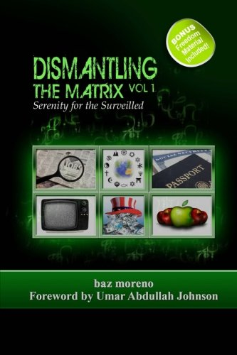 Book: Dismantling the Matrix - Serenity for the Surveilled by Baz Moreno
