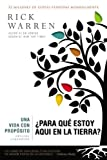 img - for Una vida con prop sito:  Para qu  estoy aqu  en la tierra? (The Purpose Driven Life) (Spanish Edition) book / textbook / text book