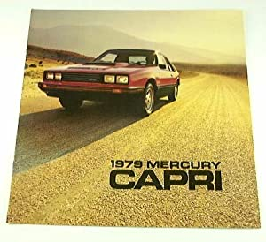 1979 79 Mercury CAPRI BROCHURE Turbo RS Ghia