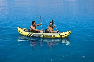 Intex Explorer K2 Kayak, Yellow by Intex